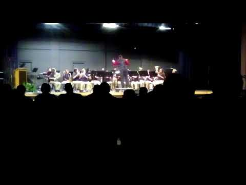 Cobre High School band performance