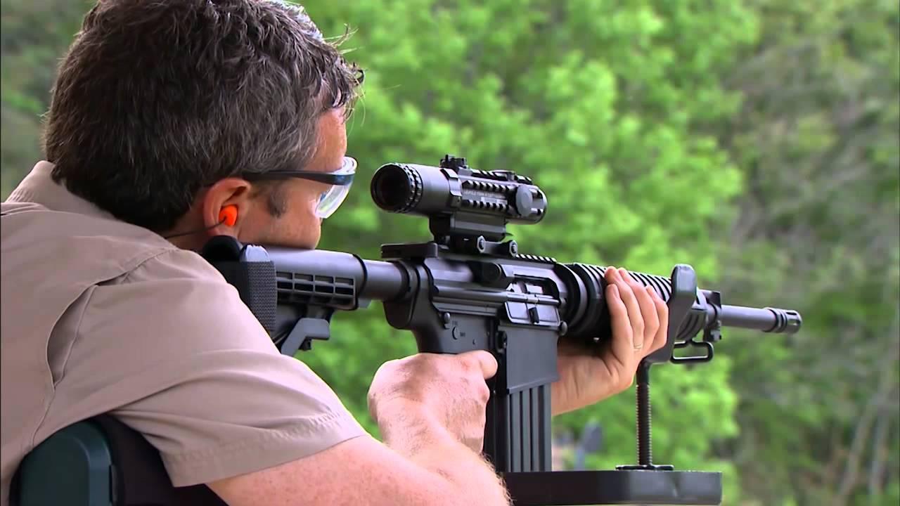 gog tv 2011  bushmaster 308 o r c   optics ready carbine