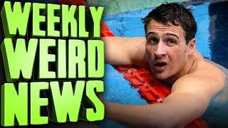 Dumb Ryan Lochte Did Something Dumb Again - Weekly Weird News