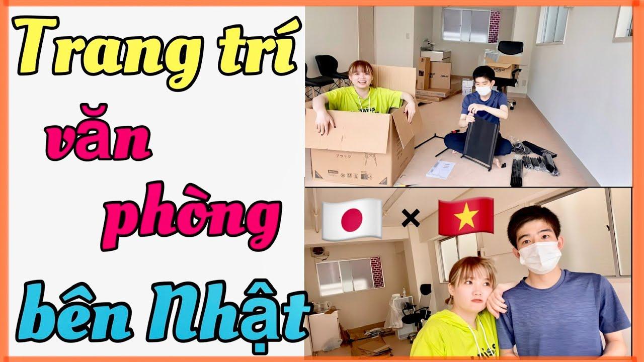 TRANG TRÍ VĂN PHÒNG BÊN NHẬT 【国際結婚🇻🇳×🇯🇵】