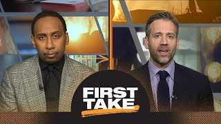 Stephen A. and Max react to LeBron James' game-winner vs. Raptors in Game 3 | First Take | ESPN