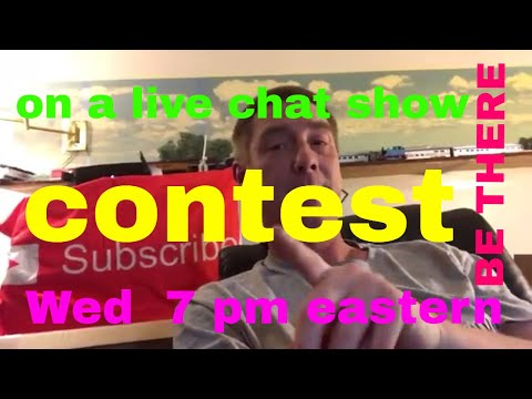 Contest. On a live chat show. Cool, share this with everyone, lets fill the room