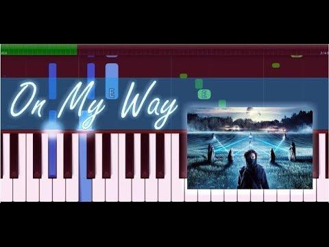 on-my-way---alan-walker,-sabrina-carpenter-&-farruko-(piano-tutorial)