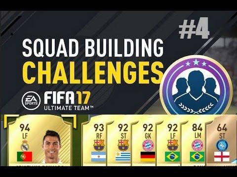 Squad Building Challenge Liga Nationen Hybrid Schwer