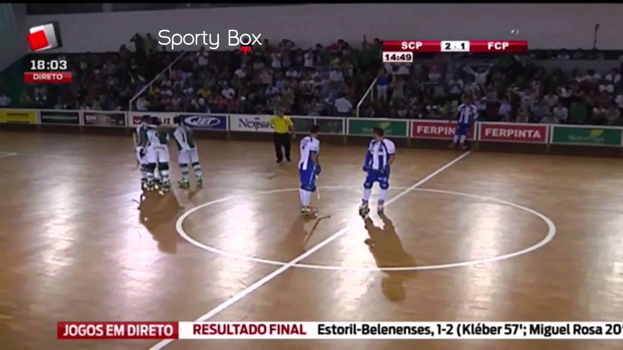 Hoquei Patins :: 04J :: Sporting - 2 x Porto - 2 de 2014/2015