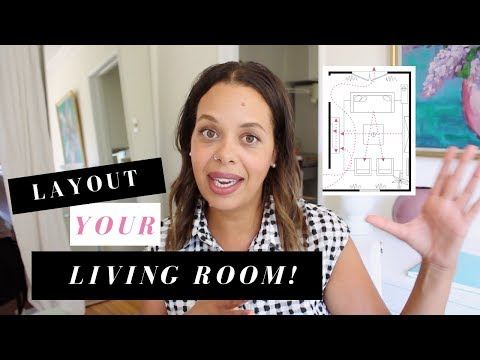 How To Layout Your Living Room Furniture (when You Can't Place Your TV Over The Fireplace)