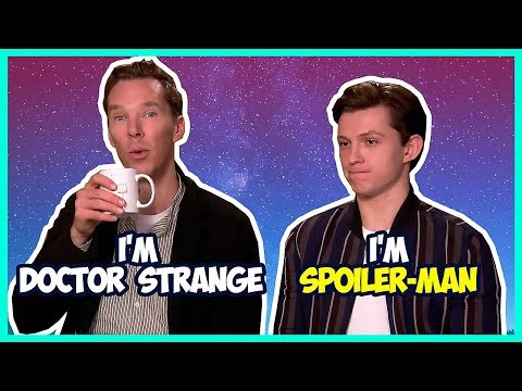 Tom Holland & Benedict Cumberbatch Funny Moments (Avengers Infinity War)