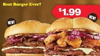 Checkers crispy mushroom steak burger review