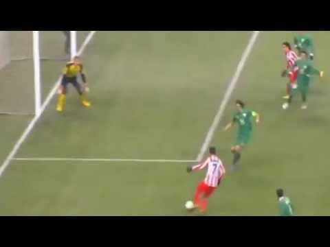 Goal Radamel Falcao // But Radamel Falcao Rubin Kazan vs Atletico Madrid 21/02/2013