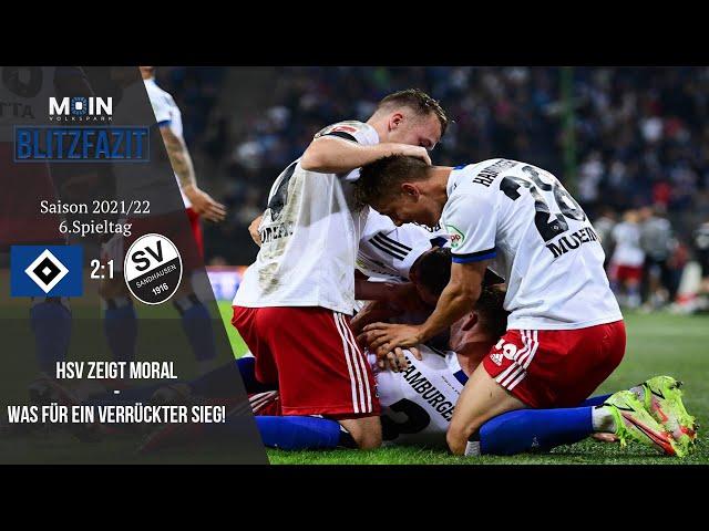 Scholles Blitzfazit zum Spiel   HSV 2:1 SV Sandhausen   Saison 21/22   #028