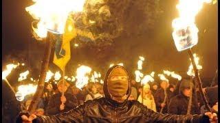 TORCH-LIT MARCH IN KIEV BY UKRAINE