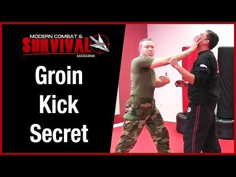 Self Defense Groin Kick Secret