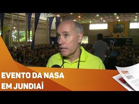 Evento da Nasa movimenta Jundiaí - TV SOROCABA/SBT