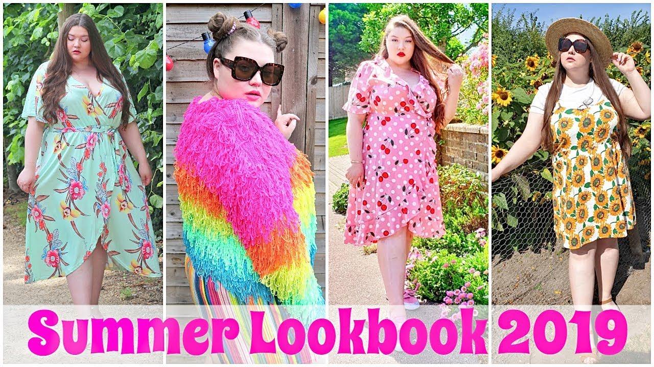 Plus Size Summer Lookbook 2019!