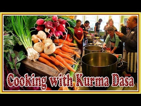 HIS GRACE KURMA DASA - THE JOVIAL CHEF WITH A HEART FOR KRISHNA