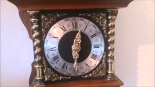 Old Dutch Large Rare Oak Wood Zaanse Wall Clock Bim Bam 1968 For Sale On Ebay Uk.