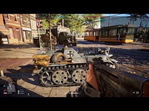 Battlefield V Beta - Rotterdam 4K Scenery Shoot GeForce GTX 1080 Ti