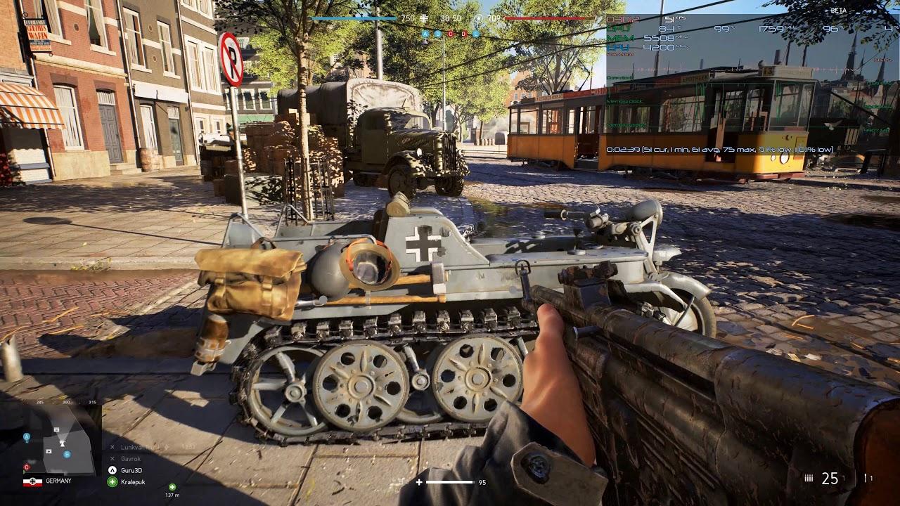 Battlefield V: PC graphics performance benchmarks - Graphics