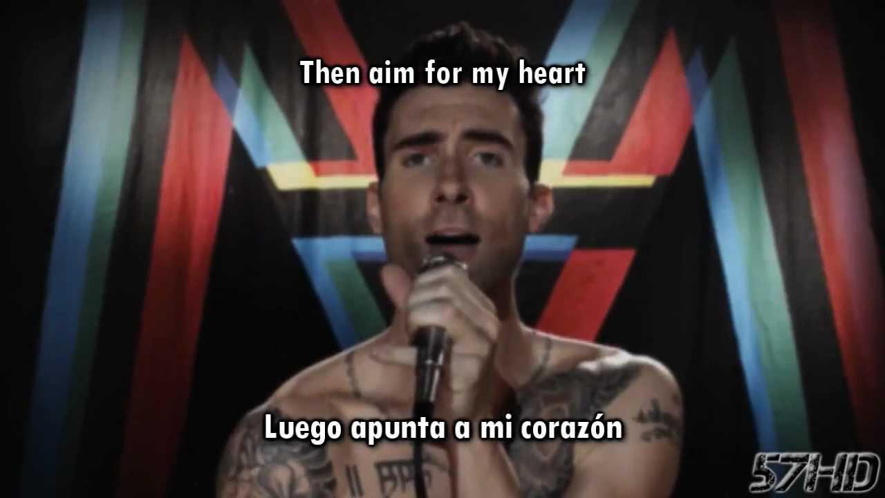 78b75c3088e5 Maroon 5 Ft. Christina Aguilera - Moves Like Jagger HD Video Subtitulado  Español English Lyrics - YouTube