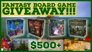 Fantasy Board Game Giveaway - New Winner Every Week