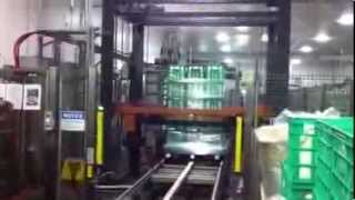 Phoenix PRRA-4000 demonstrating milk cases wrapping
