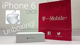 iPhone 6 128GB Grey - T-Mobile - Unboxing & Fake iPhone 6 Comparison!