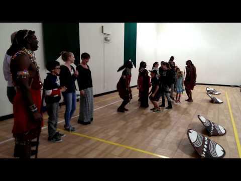 Sironka Dance Troupe at Valley Montessori in Livermore