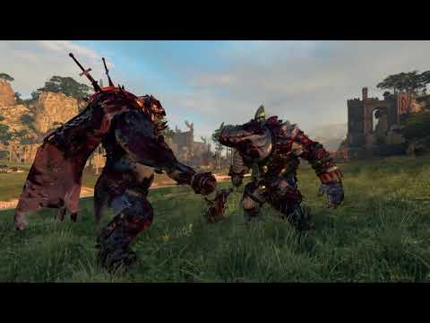 Throgg VS Nakai | The Hunter & The Beast | Total War: warhammer 2 |