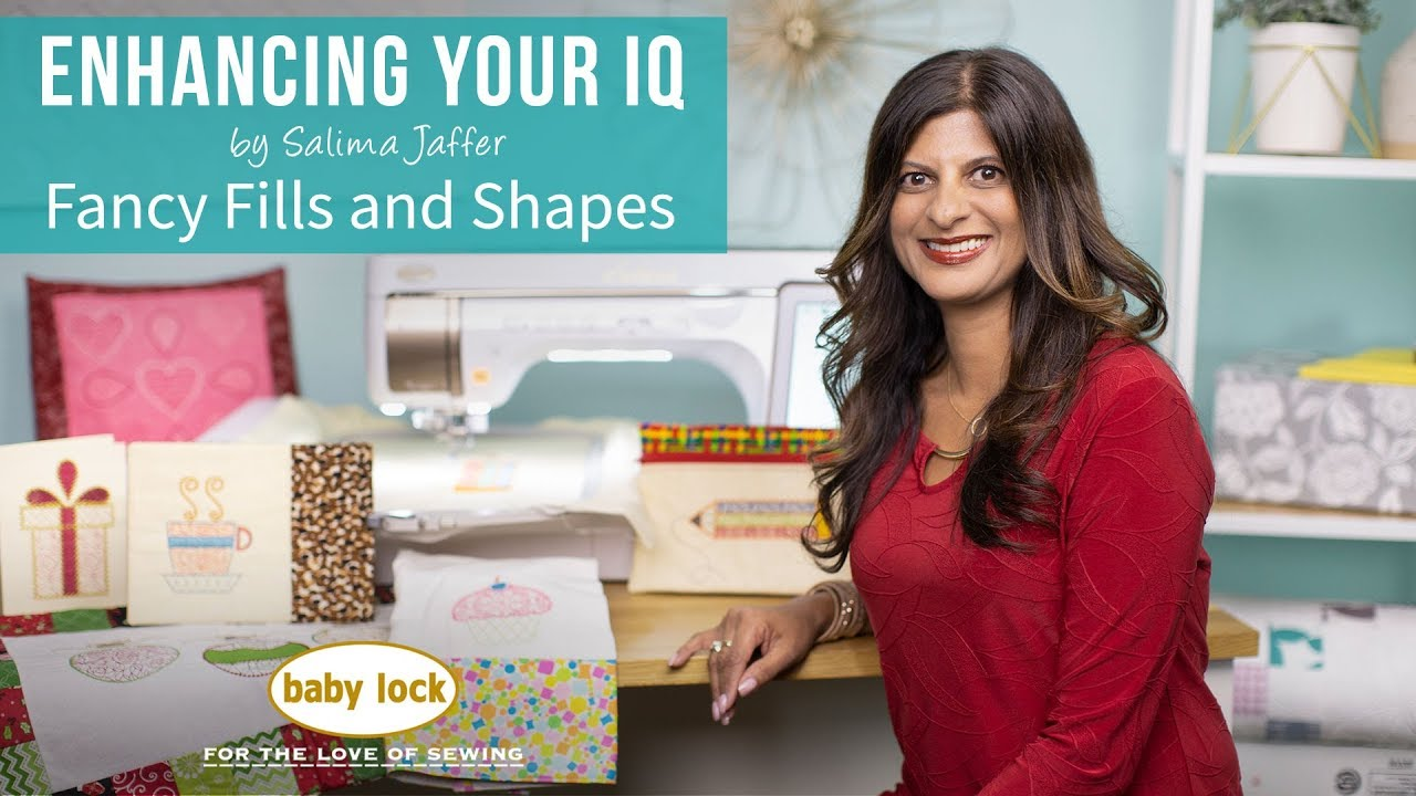 Enhancing Your IQ by Salima Jaffer: Fancy Fills and Shapes