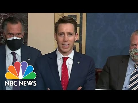 Hawley Makes Claim About Legality Of Vote In Pennsylvania | NBC News