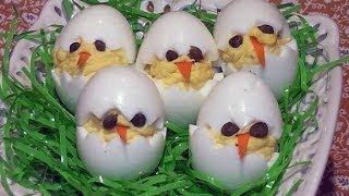 How To... Deviled Egg Chicks