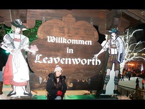 Wenatchee to Leavenworth Christmas Lights Celebration || Seattle Travel Vlog1