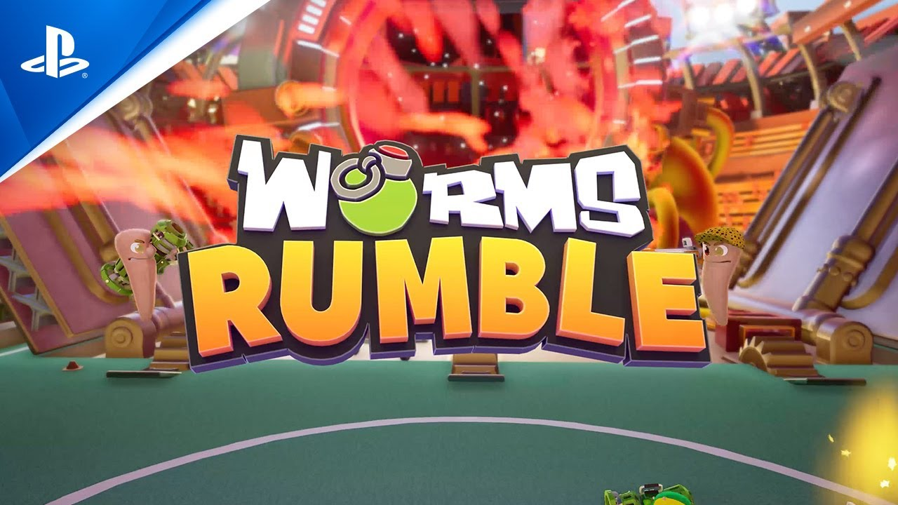 Worms Rumble - Bande-annonce de gameplay