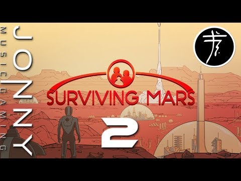 Jonny looks at Surviving Mars - Day 2: Water and Oxygen supply