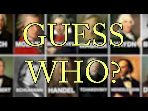 Guess Who - Composers Edition