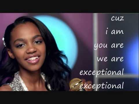 China Anne Mcclain Exceptional Lyrics Full