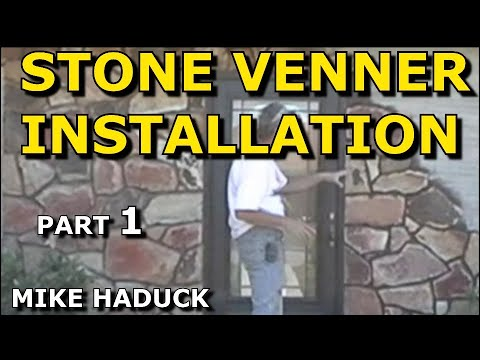 How I Install Stone Veneer Part 1 Of 7 Mike Haduck
