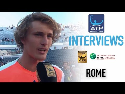 Interview: Zverev Ecstatic After First Masters 1000 Title In Rome 2017