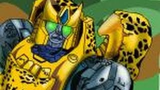 How to draw Cheetor from Beast Wars