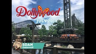 Dollywood 2019 Expansion | New Concrete & Retaining Wall!