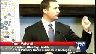 TOM VALENTI'S COMMENTS FROM FORUM ON FREE MARKET ALTERNATIVE TO OBAMACARE