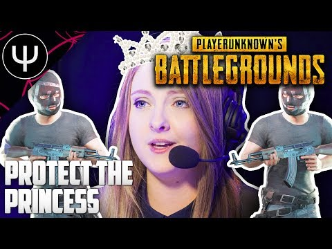 PLAYERUNKNOWN'S BATTLEGROUNDS — Protect the PRINCESS Challenge!