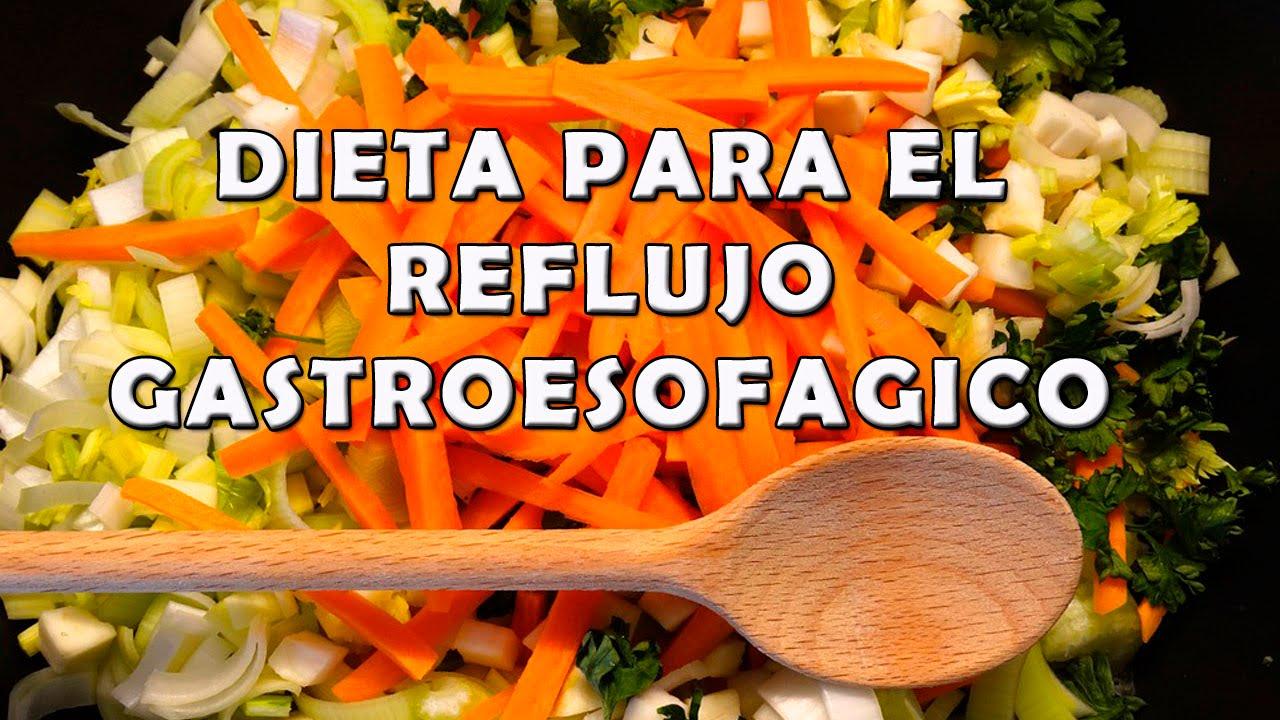 Dieta para una persona con gastritis y reflujo