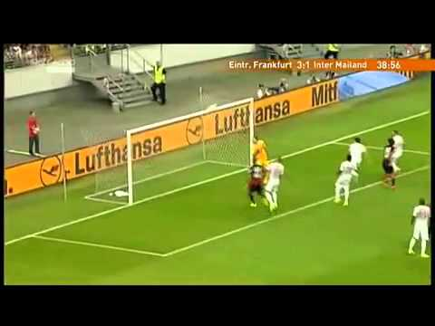 Goal Haris Seferovic vs Inter Milan 3 1   Ampia Sintesi Sky 2014