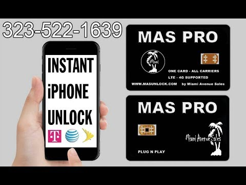 How to fix sim not supported (Carrier Lock) for Sprint, AT&T, T-Mobile iPhone Instant Unlock iOS 11