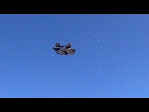 RC ADVENTURES - RC Flying Saucer..?  Nope, Electric Traxxas Slash 4x4 & PiMPED Trail Truck