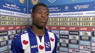 Dumfries na winst Heerenveen, ADO Heerenveen, Eredivisie, voetbal