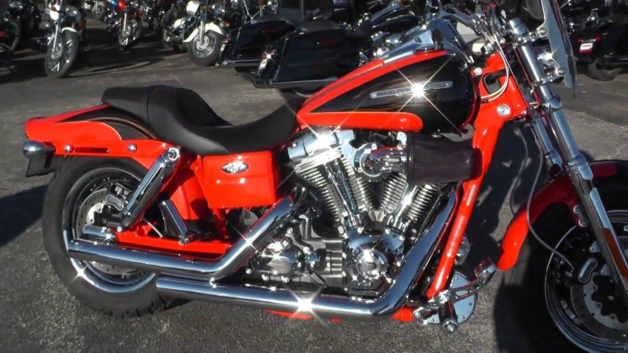 976816 2009 Harley Davidson Cvo Dyna Fat Bob Fxdfse Used