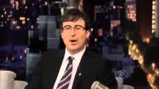 John Oliver on David Letterman Full Interview June 4 ,2013medium