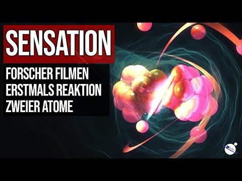 Sensation - Forscher filmen erstmals Reaktion zweier Atome